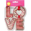 Wilton Utstickare Love, 4 delar