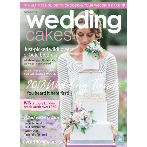 Squires Kitchen Wedding Cakes nr 66, vår 2018