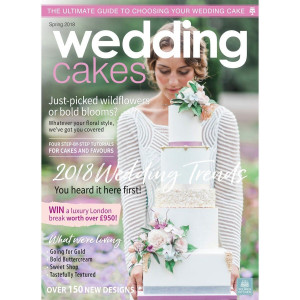 Squires Kitchen Wedding Cakes nr 66, vår 2018
