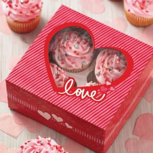 Wilton Cupcake Box Valentine, 2 st