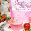 Sugar and Crumbs Smaksatt Florsocker, jordgubbsmilkshake