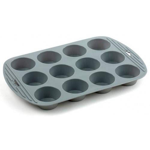Funktion Muffinsform i silikon, 12 hål
