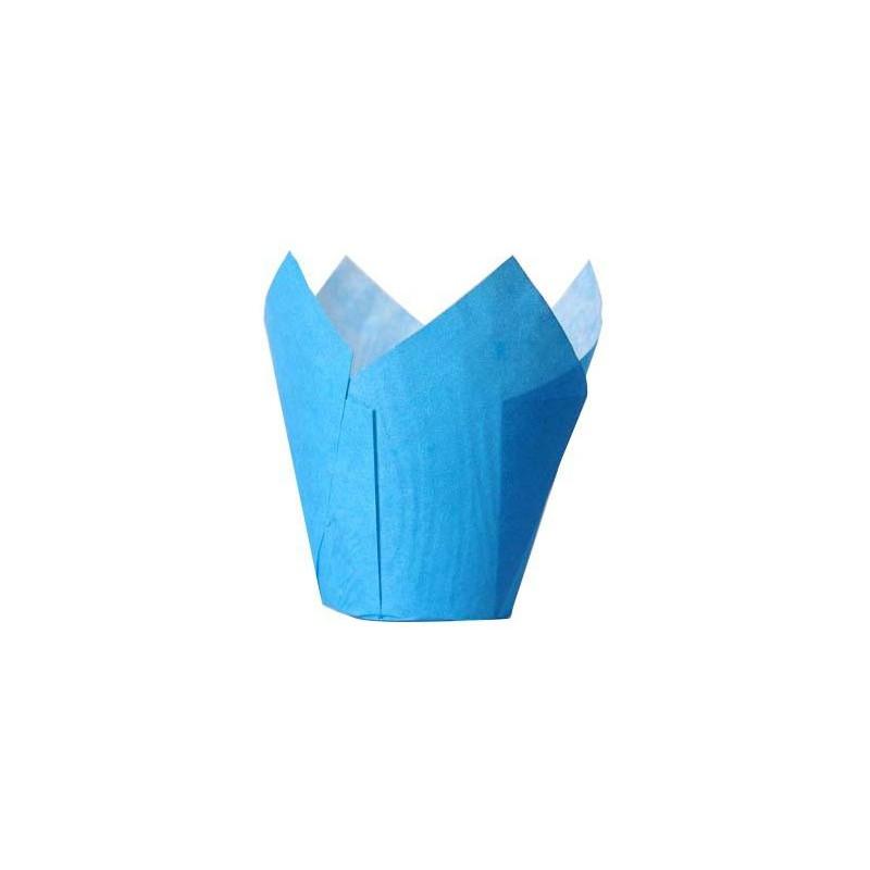 House of Marie Muffinsform Tulip, blå