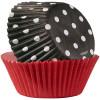 Muffinsform Black Dot - Wilton