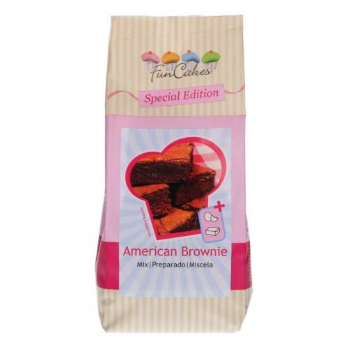 FunCakes Amerikansk Brownie Mix, 500 g