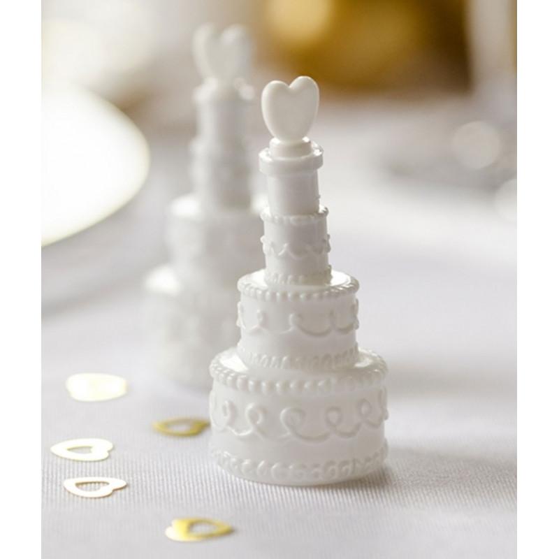 PartyDeco Såpbubblor till bröllop, tårta