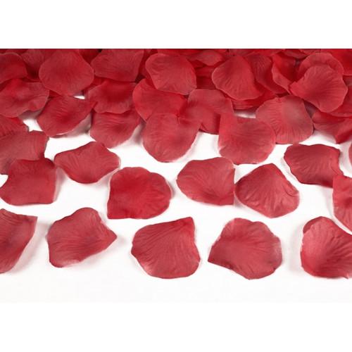 PartyDeco Rosblad, röda, 100 st