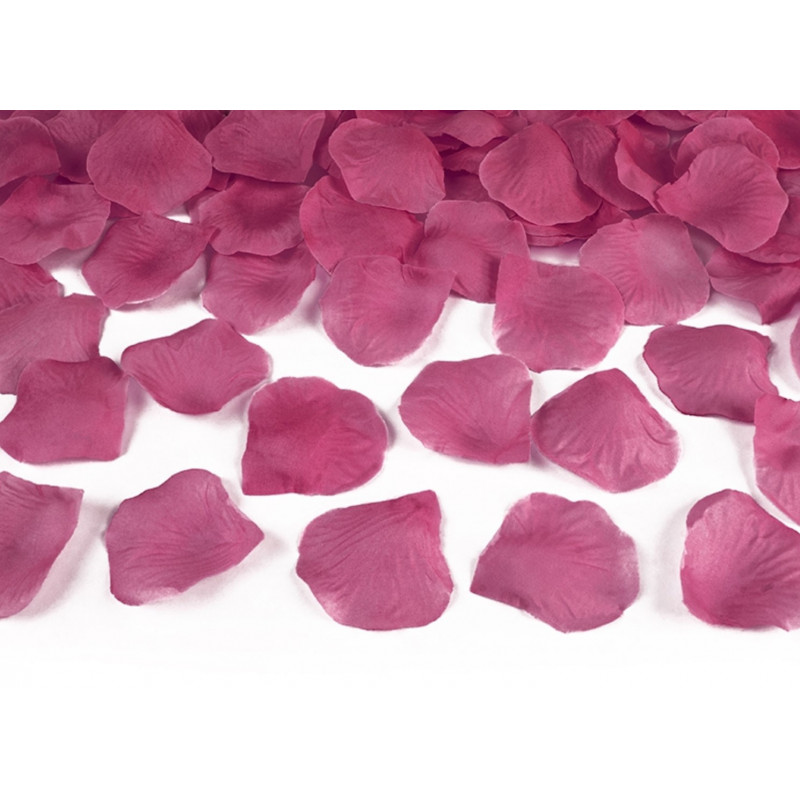 PartyDeco Rosblad, rosa, 100 st