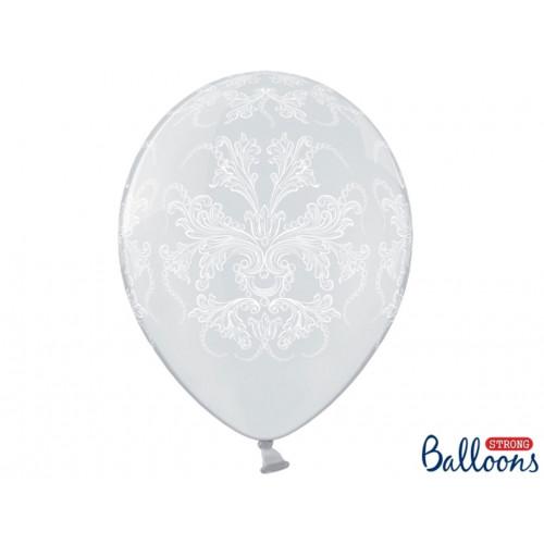 PartyDeco Ballonger Transparenta, Ornament