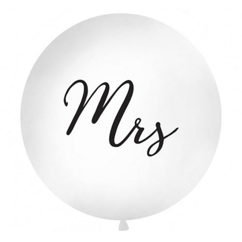 PartyDeco Stor Ballong, Mrs