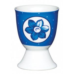 Kitchen Craft Äggkopp Blå blomma