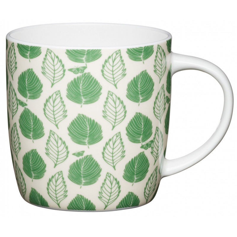 Kitchen Craft Mugg, göna löv