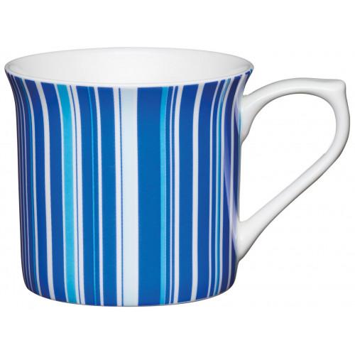 Kitchen Craft Mugg, randig blå