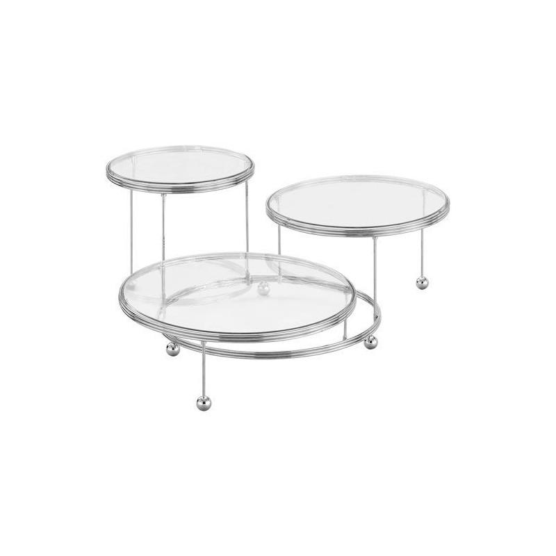 Wilton Tårtställning i 3 delar, metall