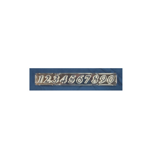 Windsor Cake Craft Utstickare, Script Number