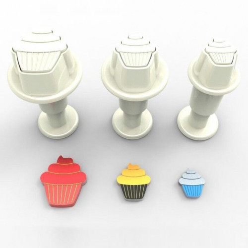 Dekofee Utstickare Mini Set, cupcakes