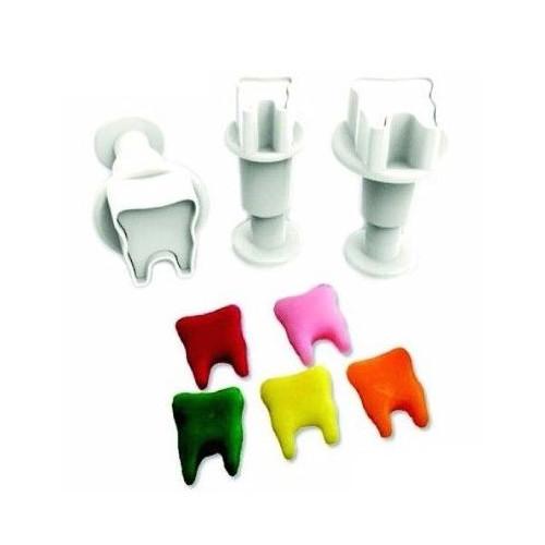 Dekofee Utstickare Mini Set, tänder