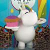 Bullyland Tårtdekorationer Knubbig Enhörning, cupcake