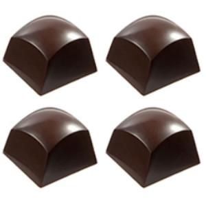 Chocolate World Pralinform Rundad kub