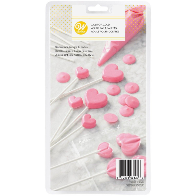 Wilton Godisform Candy Mold, hjärta