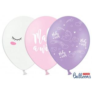 PartyDeco Ballonger Enhörning