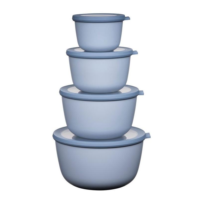 Rosti Mepal Cirqula Skålset, 4 delar, Nordic Blue