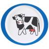 Rosti Mepal Babytallrik, Farm, vit/blå