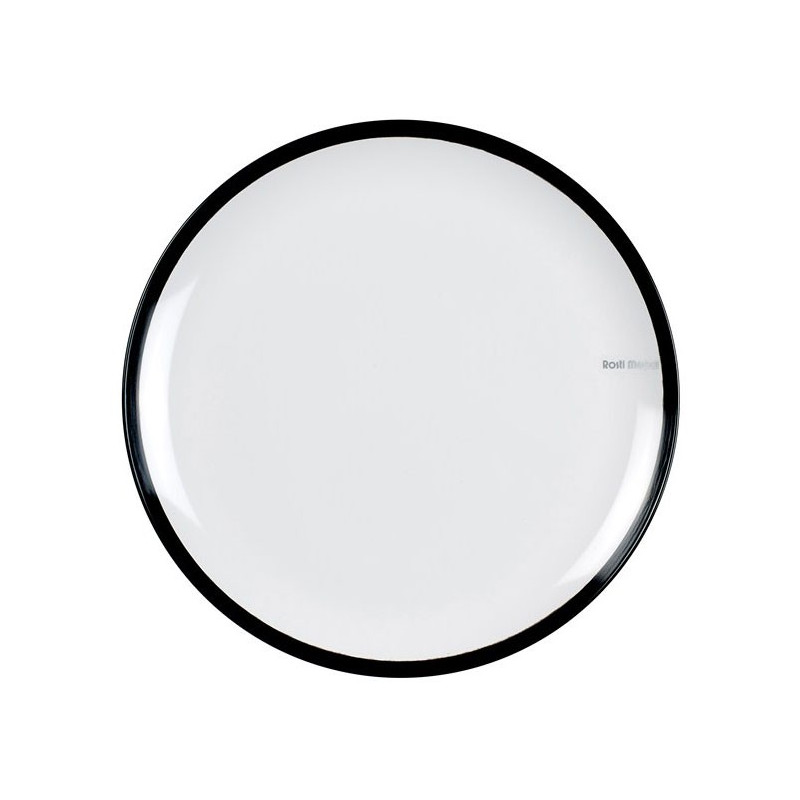 Rosti Mepal Tallrik flat, Flow, 26 cm, svart