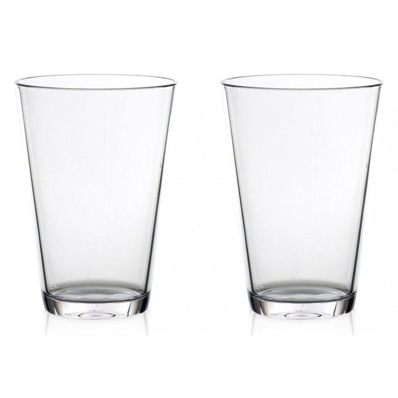 Rosti Mepal Vattenglas, Flow, 275 ml, 2 st