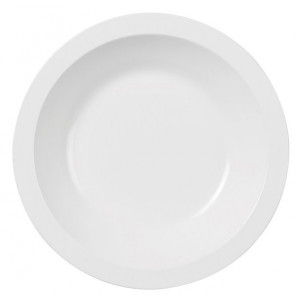 Rosti Mepal Tallrik Hamlet, djup, 21 cm, vit