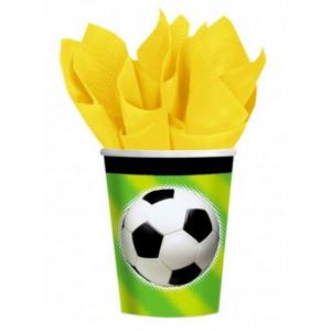 PartyDeco Pappersmuggar Fotboll