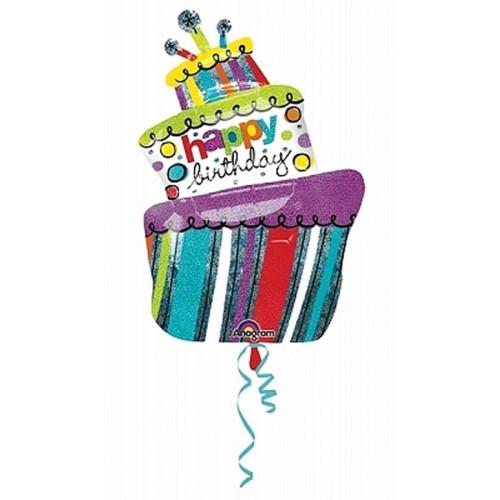 Anagram Ballong i microfolie, tårta