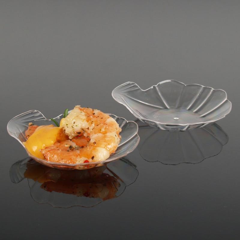 Engångsskål i plast, snäcka