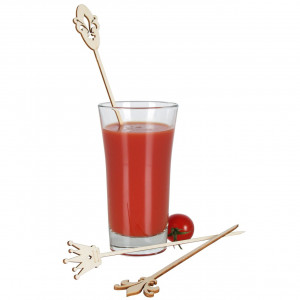 Drinkpinnar i trä, Royal, 20 st