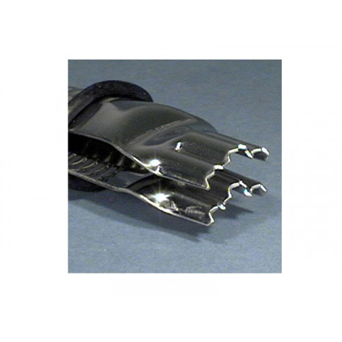PME Triple Scallop Closed Serrated Crimper