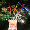 Drinkpinnar Palm, blandade färger, 6 st