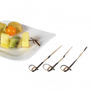 Cocktailpinnar i bambu 10,5 cm, 80 st
