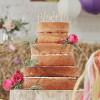 Ginger Ray Cake Topper i trä, Mr & Mrs