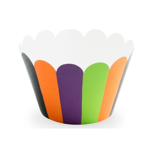 PartyDeco Cupcake Wrappers Hocus Pocus