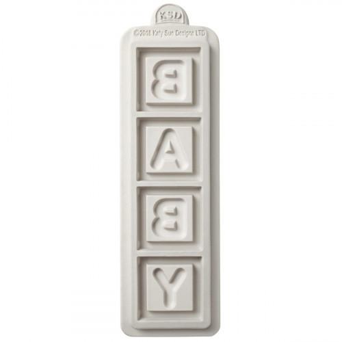 Katy Sue Designs Silikonform Baby Block