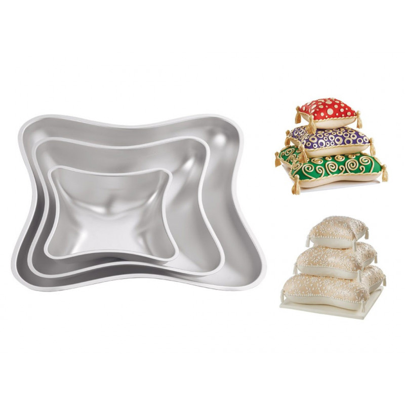 Bakform Pillow Pan Set - Wilton