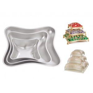 Wilton Bakform, Pillow Pan Set