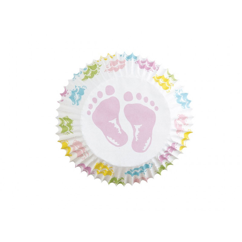 Muffinsform Baby Feet - Wilton