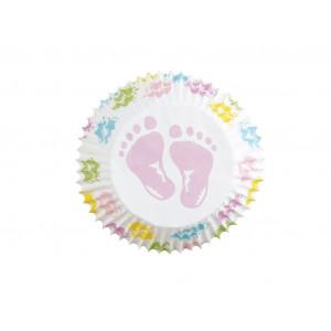 Wilton Muffinsform Baby Feet