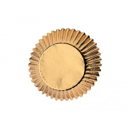 Wilton Muffinsform Gold Foil