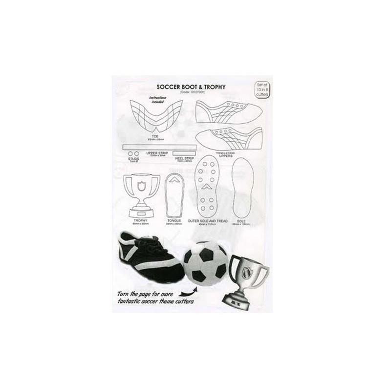 Utstickare Soccer Boot & Trophy - JEM