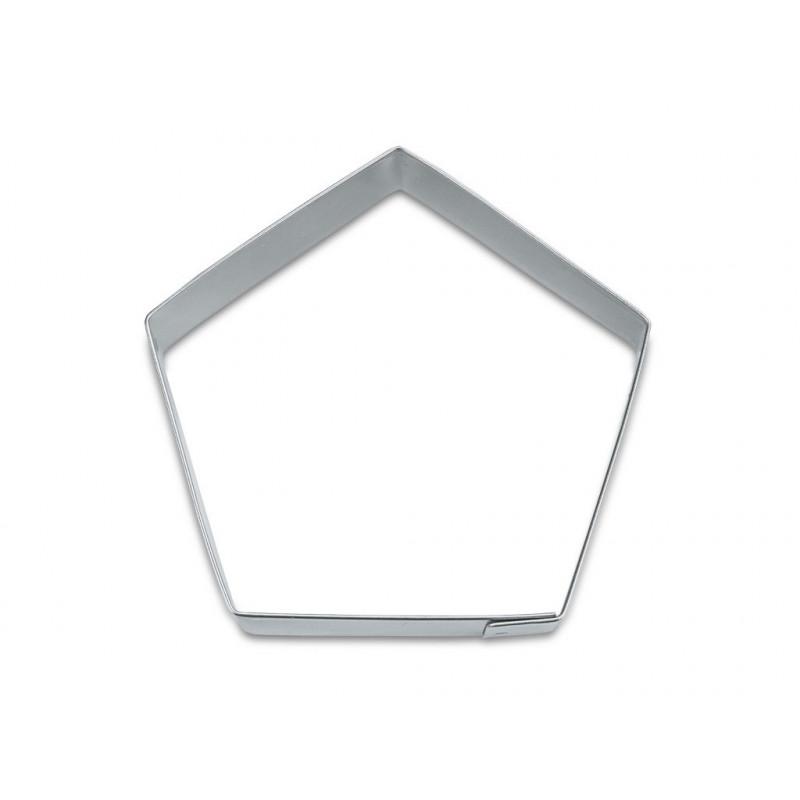 Utstickare Pentagon 7 cm - Städter
