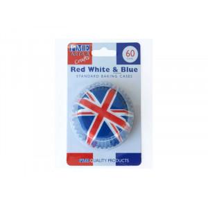 PME Muffinsform Red White & Blue