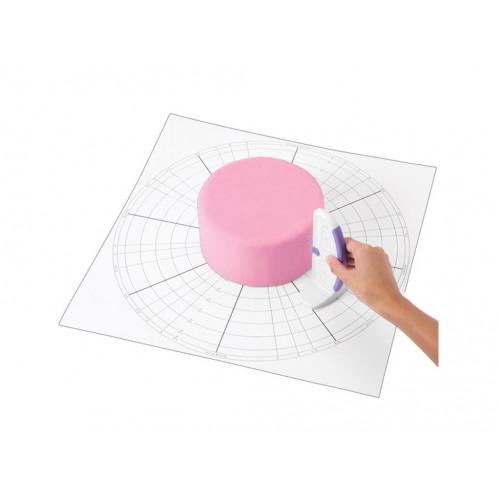 Cake Dividing Chart - Wilton