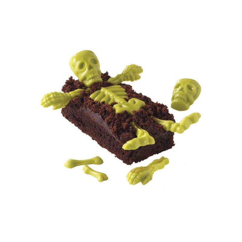 Skeleton Bones Candy Mold - Wilton